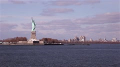 Stock Video Footage of Statue of Liberty in New York