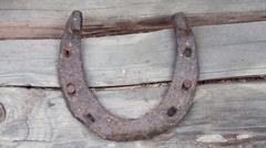 Antique Horseshoe Stock Photos
