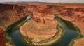 4K Horseshoe Bend 04 Colorado River Time Lapse 4k or 4k+ Resolution