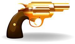 Pistol - stock illustration