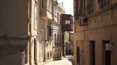 Azerbaijan Baku Old City Stock Footage