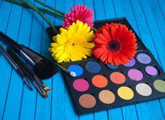 Eyeshadow Palette Stock Photos