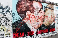 Berlin Wall Stock Photos