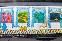 Berlin Wall Kuvituskuvat