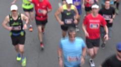2015 The Tamarack Ottawa Race Weekend marathon races. Gaussian Blur. Stock Footage
