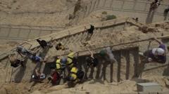 MASADA, ISRAEL - stock footage
