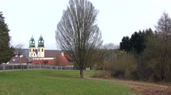 Wallfahrtskirche Mariahilf church in Passau, Bavaria, Germany Stock Footage