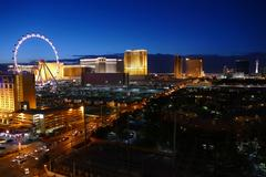 Las Vegas Strip Dusk - stock photo