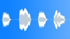 Screeching cartoon bird alert Sound Effect