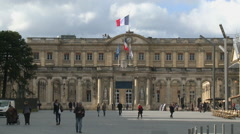 Bordeaux mayor house Stock Footage