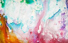 Abstraction paint - stock photo