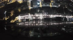 Vertigo inducing Timelapse from Willis Tower - Chicago Stock Footage