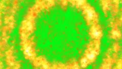 Explosion shockwave green screen Stock Footage