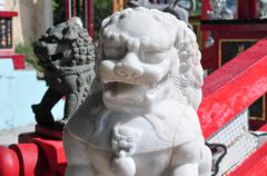Tin Hau Temple - Hong Kong - stock photo