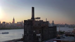 Domino Sugar Refinery Brooklyn - stock footage
