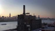 Stock Video Footage of Domino Sugar Refinery Brooklyn