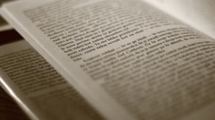 Fast reading Stock Footage