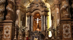 Stock Video Footage of Local Church in Spain