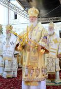Kiev, Ukraine, the Holy Dormition Kiev-Pechersk Lavra, the celebrations in honor - stock photo