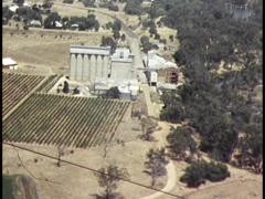 AERIAL FOOTAGE (Rural Australia) Stock Footage