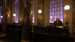 The Gringotts Bank at Universal Studios, Orlando Stock Footage