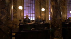 Inside The Gringotts Bank at Universal Studios, Orlando Stock Footage