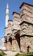 The minaret of Hagia Sophia, Istanbul Stock Photos