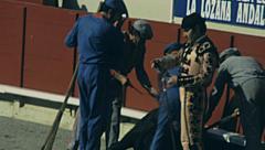 Barcelona 1976: la Corrida Stock Footage