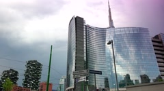 Stock Video Footage of Milan is renewed for the universal exposition of 2015