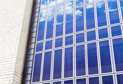 Sky Pattern Artifical Building Disguise - stock photo