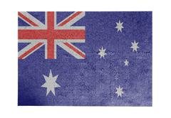 Large jigsaw puzzle of 1000 pieces - Australia - stock photo