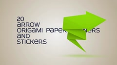 Paper Arrow Stock After Effects