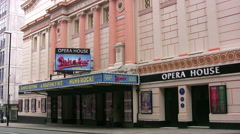 Manchester opera house staging Sister Act Stock Footage
