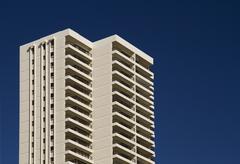 Waikiki resort Stock Photos