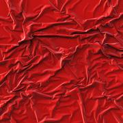Crumpled red cloth Stock Illustration