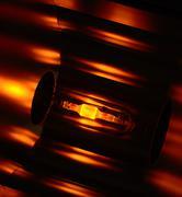 Glowing lamp Stock Photos