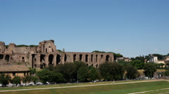 The Circo Massimo in Rome Italy Stock Footage