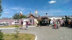 Main local lore museum of Kolomna Kremlinin Stock Footage