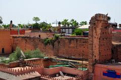 morocco slum - stock photo