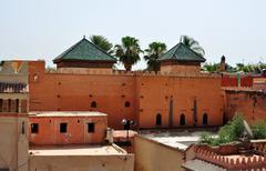 saadian tombs - stock photo