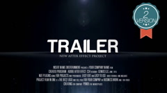 Film Cinematic Trailer (2 in 1) Stock After Effects
