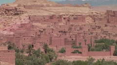 Ait Benhaddou Kasbah, Morocco Stock Footage