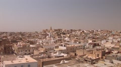 Aerial of Sousse - stock footage