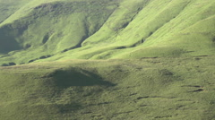 Amphitheatre area of Drakensberg mountains,Kwa-Zulu-Natal,South Africa Stock Footage