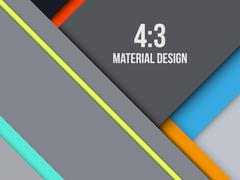 Background Unusual modern material design - stock illustration