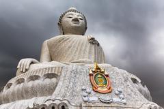 The Phuket Big Buddha - stock photo