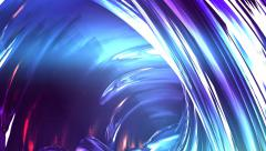 Abstract fantasy organic forms blue background 7 Stock Footage