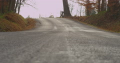 Lonely Country Road Stock Footage