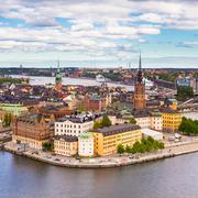 Gamla stan, Sweden, Scandinavia, Europe. - stock photo