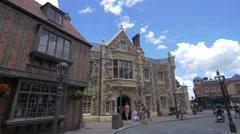United Kingdom Pavilion Epcot Center at Disney World, Orlando Stock Footage